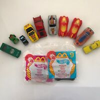 mcdonalds happy meal toys Hot Wheels 1999 Lot Of 12