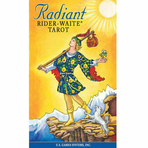 Radiant Rider-Waite Tarot Deck NEW IN BOX US Games - 78 Cards and Booklet