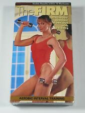 VHS: Exercise: The Firm- Sealed/New: Total-Body, Aeorbic, Workout with Weights