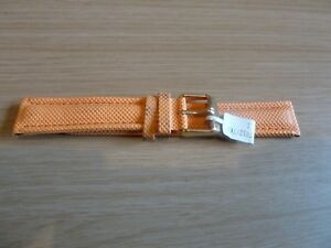 1x Waterproof Watch Strap - New Old Stock - 18mm Lug - ORANGE