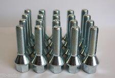 20 X M12 1.5 50MM Rosca Zinc 60 Grados Cónico Perno de Aleación para Rueda