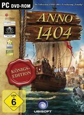 PC Neu Anno 1404 - Königsedition Original Download Code Key Schlüssel für uPlay