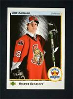 2017-18 17-18 UD SP Authentic 1990-91 Retro Draft Picks #RDP-EK Erik Karlsson