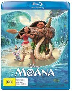 Moana (Blu-ray, 2017) : NEW