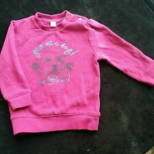 girl jumper long sleeve spring sweater pullover  from esprit 12-18 months