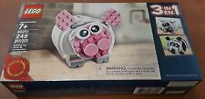 LEGO 40251 - 3 In 1 Piggy Bank Promo 248 Limited Edition ~ Factory Sealed ~