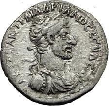 HADRIAN 120AD Caesarea Cappadocia Authentic Ancient Silver Roman Coin i65438