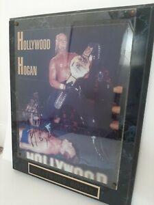 WCW nWo Hollywood Hulk Hogan Autographed 8x10 Photo Signed COA Auto WWF WWE