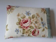 Cabbage Rose Cushion Cover Parisienne Warwick Fabric Shabby Chic Bolster