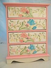 Painted Tall Dresser EWDP2511 Fashion Doll dollhouse furniture 1/6 & 1/8 Scale