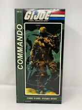 Sideshow Collectible G.I.JOE Commando SNAKE EYES 1/6th Scale Figure (2009)