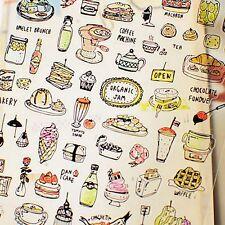 Brunch Day Drink Bread Jam Chocolate Pancake Cafe Yogurt Pizza Waffle stickers