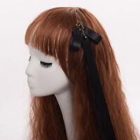 Lolita Girls' Steampunk Gear Ribbon Punk Hairpin Gothic Women Headwear Hair Clip
