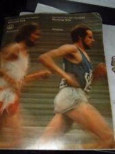 Montreal Olympics 1976 Program Athletics Track & Field Original French & English