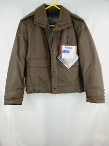 BLAUER Jacket w/ Quilted Liner Men's Model 9010Z  Brown 40L NWT New Gor-Tex