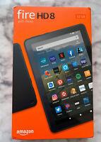 """Amazon Fire HD 8 tablet (10th Generation), 8"""" HD display, 32GB, Wi-Fi - Black"""