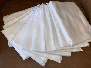 LARGE Frette Trade White Pillow Case Standard (31x20) 100% Egypt Cotton NEW!