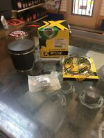 "1993-1999 Ski-doo 670 Piston Kit, .50mm / .020"" O/S 78.50mm Bore Mxz 670 Mach 1"