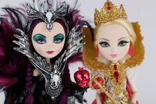 SDCC Ever After High Royally Ever After Apple White Raven Queen LOT LOOSE EUC