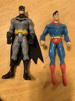 Action figures Lot. Batman, Superman, DC Comics Superheroes Superhero