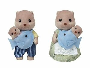 Sylvanian Families OTTER FAMILY FS-32 from Japan*