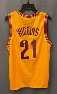 Andrew Wiggins #21 Signed Cavaliers Jersey Autographed Sz XL JSA COA AUTO