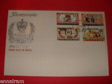 Queen Elizabeth II Silver Jubilee FDC 25 Coronation Tanzania  1978 #1