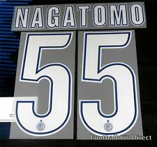 Inter Milan Nagatomo 55 2012/13 Football Shirt Name/number Set Home serie a
