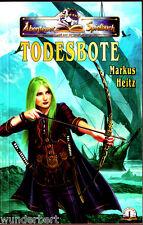 """Markus Heitz - """" TODESBOTE """" (2006) - tb -- Fantasy-Abenteuer-Spielbuch"""
