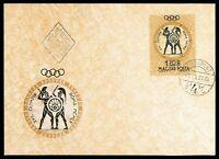 UNGARN MK 1960 OLYMPIA ROM OLYMPICS SCHWERTKAMPF FECHTEN MAXIMUM CARD MC cn74