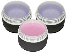 ledline GEL DE UÑAS SET ROSA 3x15ml: construcción, adhesivo, SELLADO/LED-GEL