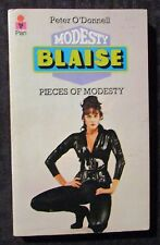 1977 MODESTY BLAISE Pieces of by Peter O'Donnell FN 6.0 5th Pan UK Paperback