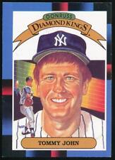 1988 Donruss Diamond Kings #17 Tommy John New York Yankees