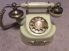 Vintage Fancy French Dial Rotary Phone 1984 Made in Korea