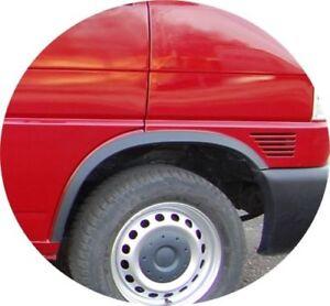 Radlaufleisten VW T4 Zierleisten kurzer Vorderwagen SCHWARZ Styling Vorne Hinten