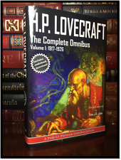 H.P. Lovecraft Complete Omnibus Collection Volume I 1917-26 Brand New Cthulhu