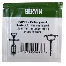 MUNTONS Gervin GV13 Cider Yeast 5g - Rapid & Clean Fermentation Home Brew Making