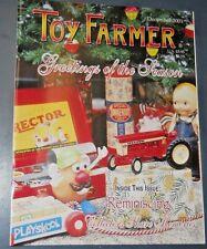 THE TOY FARMER MAGAZINE DEC 2001 STEIGER CONSTRUCTION MODELS REPLICA COUNTY FAIR