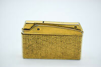 Metamar JUTSON-37 Silva Lighter Goldtone Cigarette Vintage Collectors Gas Rare