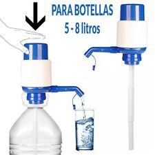 2 X DISPENSADORES BOMBA MANUAL DE AGUA DOSIFICADOR DE BOTELLA GRIFO GARRAFA
