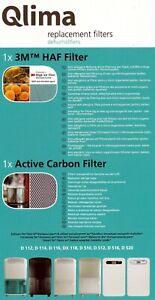 Original Replacement Filters for Dehumidifier ZIBRO QLIMA D510 D512 D516 D520