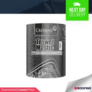 Bitumen Trowel Mastic | Roof Sealant | Roofing Repair | Waterproofing | 1ltr