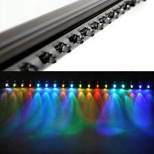 Aquarium Bunte 18 LED 46cm Unterwasser Wasserdicht Luft Blase Lampe Beleuchtung