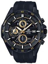 Casio Edifice Herrenuhr Uhr Chrono Datum Resinband Schwarz EFR-556PB-1AVUEF