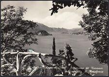 AD5829 Lago di Como - Panorama da Varenna col Cappiello di Napoleone - Cartolina