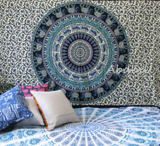 Indian Tapestry Wall Hanging Throw Hippie Elephant Deer Mandala Room Decor Art