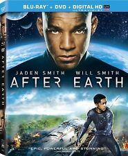After Earth (Blu-ray + DVD + Digital HD with Ultra Violet) NEW