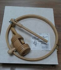 """Elbesee Table Clamp Stand with 25cm 10in 10"""" Wooden Embroidery Hoop"""
