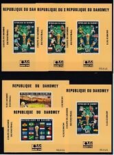 Football Dahomey Block 24 - 29 - WM 1974 Germany