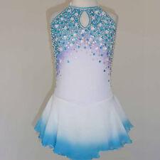 Figure Skating Dresses Custom Women Competition Skating Dress Girls A783
